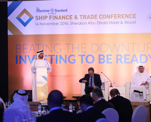Speaker TMS Ship Finance & Trade Conference 2016- H.E. Dr. Abdullah Salem Alkatheeri